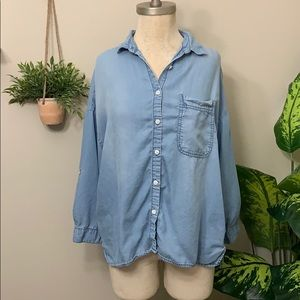 Thread & supply denim shirt